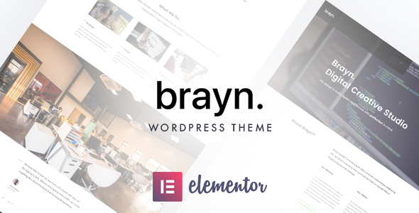 [Free Download] Brayn – Creative Portfolio Elementor WordPress Theme (Nulled) [Latest Version]