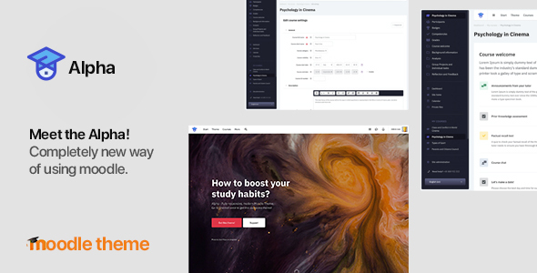 [Free Download] Alpha v 1.1.7 – Responsive Premium Theme for Moodle 3.6, 3.7, 3.8 and later (Nulled) [Latest Version]