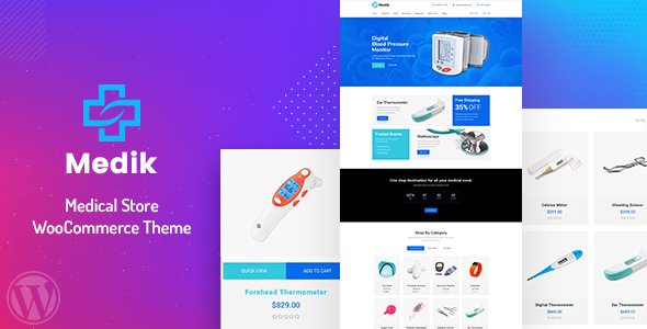 [Free Download] Medik – WooCommerce Theme (Nulled) [Latest Version]