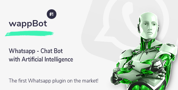 [Free Download] wappBot – Chat Bot with Artificial Intelligence #1 (Nulled) [Latest Version]