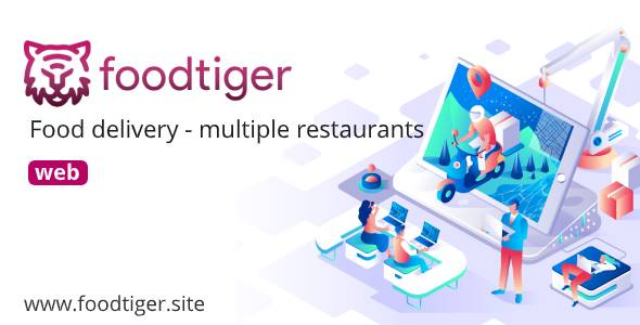 [Free Download] FoodTiger – Food delivery – Multiple Restaurants (Nulled) [Latest Version]