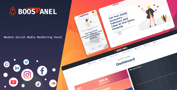 [Free Download] BoostPanel – SMM Panel Script (Nulled) [Latest Version]