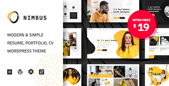 [Free Download] Nimbus – CV & Portfolio WordPress Theme (Nulled) [Latest Version]