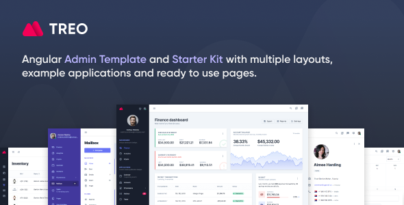 [Free Download] Treo – Angular 9 Admin Template (Nulled) [Latest Version]