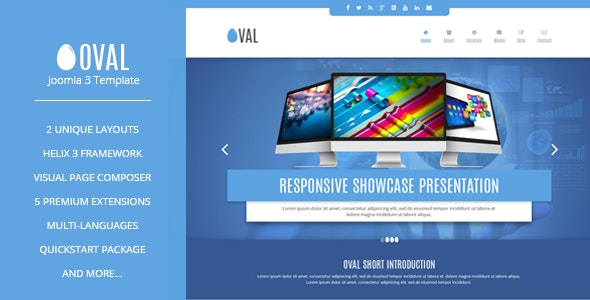Free Download Vina Oval Responsive Joomla 3 One Page Template Nulled Latest Version Free Get Downloader