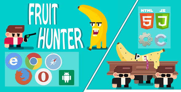 [Free Download] FRUIT HUNTER – PC, Mobile Game, Desktop Game, Construct 2 and construct 3. Capx and C3p. (Nulled) [Latest Version]