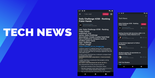 [Free Download] Flutter Tech News Android & Ios (Nulled) [Latest Version]