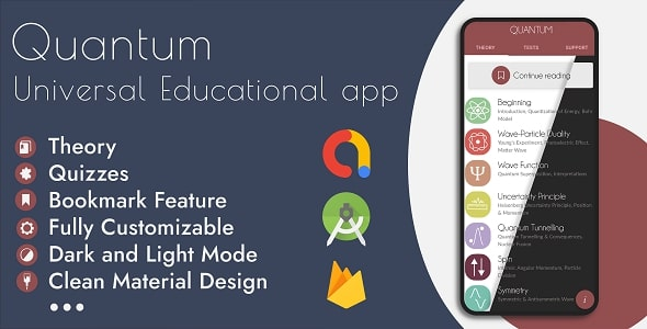 [Free Download] Universal Offline Educational App – Theory (eBook) & Quizzes (Nulled) [Latest Version]