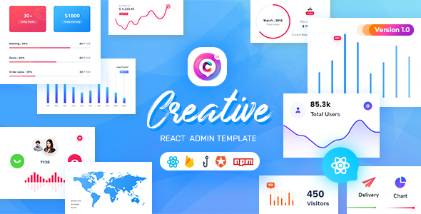 [Free Download] Creative – React Admin Template (Nulled) [Latest Version]