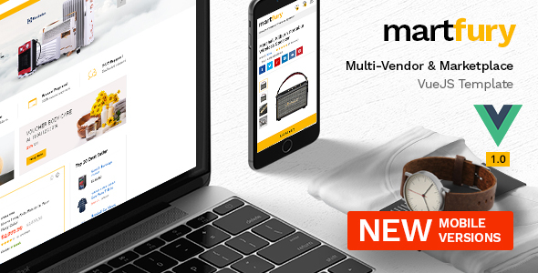 [Free Download] Martfury – Multipurpose Marketplace VueJS Ecommerce Template (Nulled) [Latest Version]