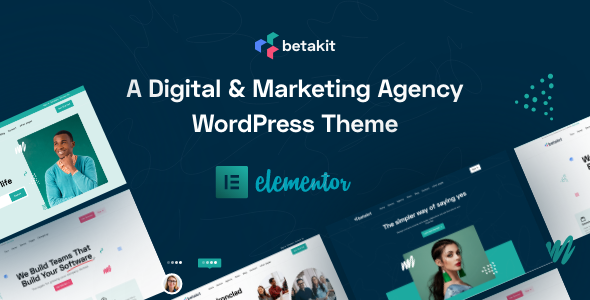 [Free Download] Betakit – Digital & Marketing Agency Theme (Nulled) [Latest Version]