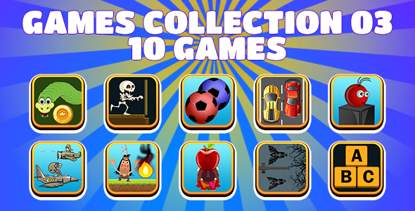 [Free Download] Game Collection 03 (CAPX and HTML5) 10 Games (Nulled) [Latest Version]