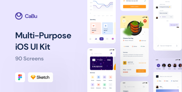 [Free Download] CaBu Multi-Purpose iOS UI Kit (Nulled) [Latest Version]