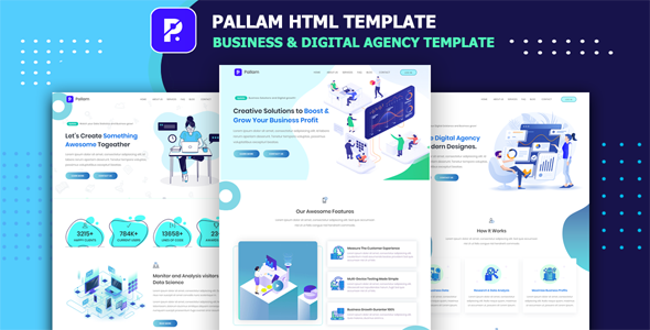 [Free Download] Pallam – Corporate Business & Digital Agency Template (Nulled) [Latest Version]