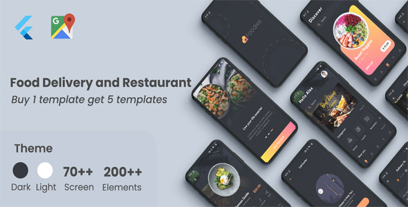 [Free Download] Flutter Food – Restaurant Food Delivery in Flutter (Nulled) [Latest Version]