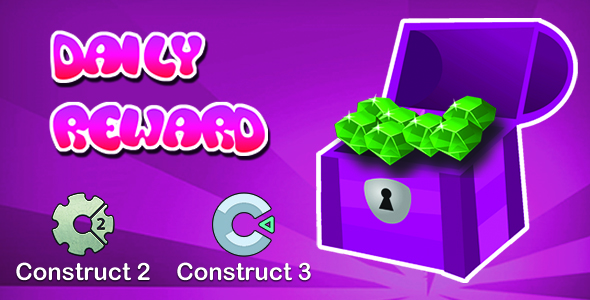 [Free Download] Daily Reward System without 3rd Plugin for Construct 2&3 Project (Nulled) [Latest Version]