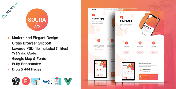 [Free Download] Soura – Vue App Template (Nulled) [Latest Version]