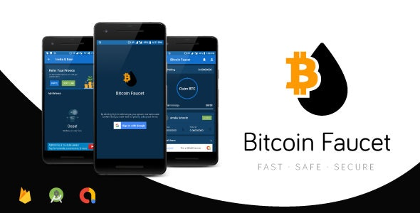 [Free Download] Bitcoin Faucet Full Android Application | Top Traffic Driving App | Firebase & Admob (Nulled) [Latest Version]