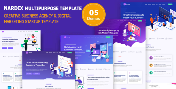 [Free Download] Nadrix – Business Template & Digital Agency (Nulled) [Latest Version]