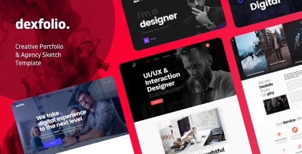 [Free Download] Dexfolio – Creative Portfolio & Agency Sketch Template (Nulled) [Latest Version]