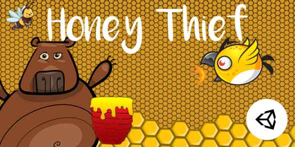 [Free Download] Honey Thief – Unity Android Project (Nulled) [Latest Version]