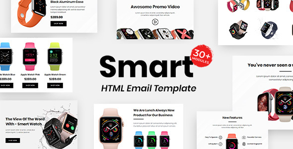 [Free Download] Smart E-commerce – Multipurpose Responsive Email Template 30+ Modules Mailchimp (Nulled) [Latest Version]