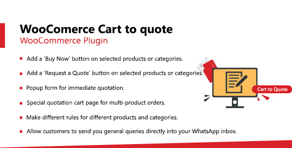 [Free Download] WooCommerce Cart to Quote (Nulled) [Latest Version]