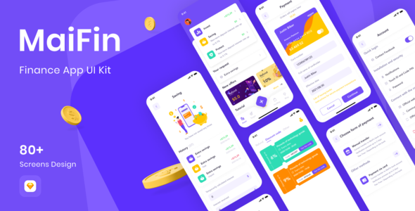 [Free Download] MaiFin – Finance App UI Kit (Nulled) [Latest Version]