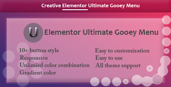 [Free Download] Elementor – Ultimate Gooey Menu (Nulled) [Latest Version]