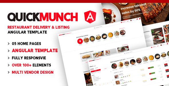 [Free Download] Quickmunch | Restaurant Listing Angular Template (Nulled) [Latest Version]