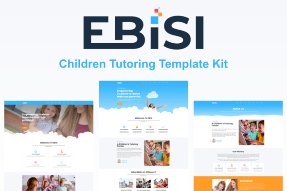 [Free Download] Ebisi – Children Tutoring Template Kit (Nulled) [Latest Version]