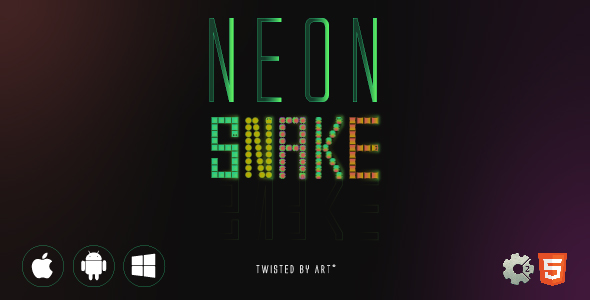 [Free Download] Neon Snake • HTML5 + C2 Game (Nulled) [Latest Version]