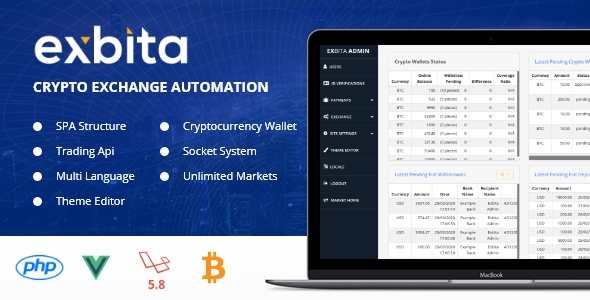 [Free Download] Exbita – Crypto Currency Exchange Platform (Nulled) [Latest Version]