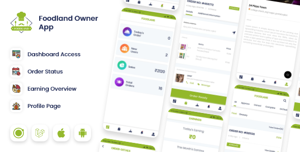 [Free Download] Owner / Vendor for Groceries, Foods, Stores Ionic App (Nulled) [Latest Version]