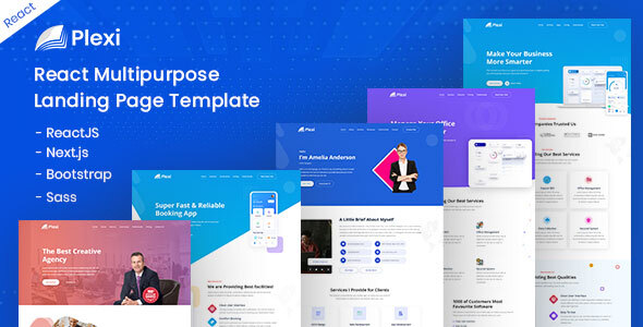 [Free Download] Plexi – React Multipurpose Landing Page Template (Nulled) [Latest Version]