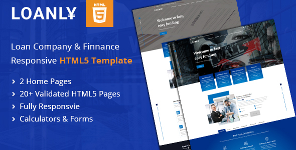 [Free Download] Loanly | Financial Loans HTML5 Template (Nulled) [Latest Version]