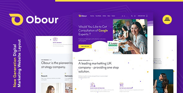 [Free Download] Obour | New Age Digital Marketing Agency Joomla Template (Nulled) [Latest Version]