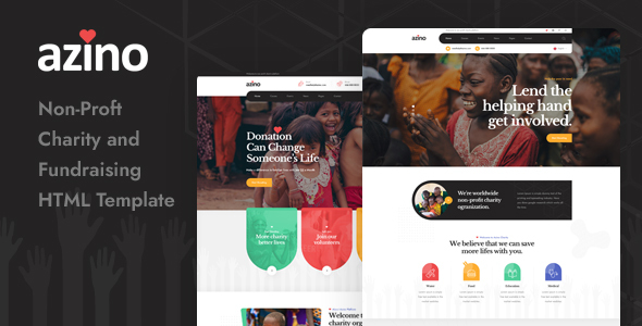 [Free Download] Azino – Nonprofit Charity HTML Template (Nulled) [Latest Version]