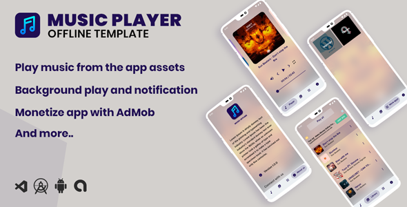 [Free Download] Offline Music App (android) (Nulled) [Latest Version]