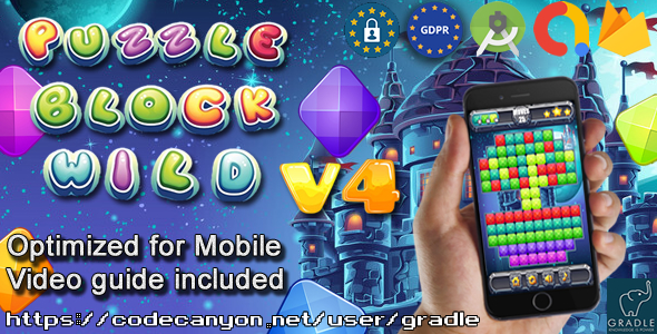 [Free Download] Puzzle Block Wild V4 (Admob + GDPR + Android Studio) (Nulled) [Latest Version]