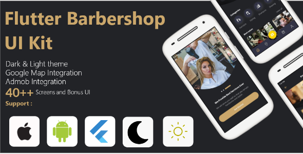 [Free Download] Flutter Barbershop UI Kit (Nulled) [Latest Version]