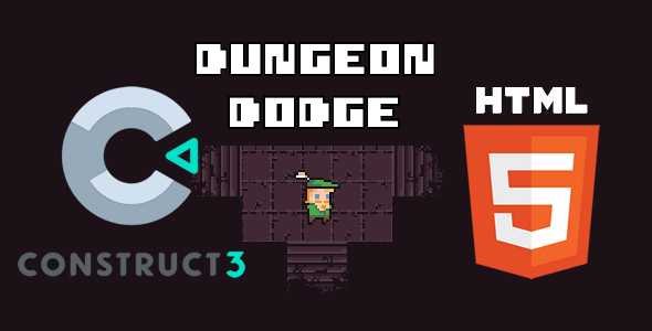 [Free Download] Dungeon Dodge HTML5 (c3p Construct 3 Source Code) (Nulled) [Latest Version]