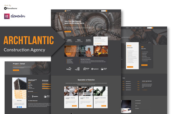 [Free Download] Archtlantic – Construction Agency Elementor Template Kit (Nulled) [Latest Version]