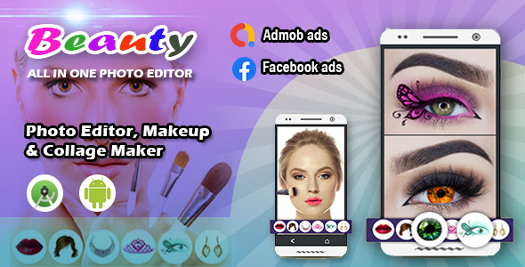 [Free Download] Beauty photo editor, Makeup & Collage maker (Nulled) [Latest Version]