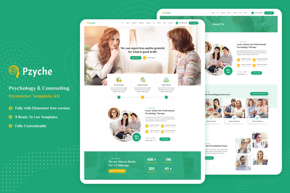 [Free Download] Pzyche – Psychology & Counseling Elementor Template Kit (Nulled) [Latest Version]