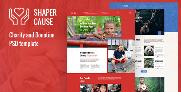 [Free Download] ShapCause – Charity and Donation PSD Template (Nulled) [Latest Version]