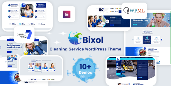 [Free Download] Bixol – Cleaning Services WordPress Theme (Nulled) [Latest Version]