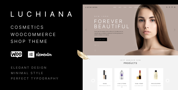 [Free Download] Luchiana – Cosmetics & Beauty Shop WooCoomerce Theme (Nulled) [Latest Version]