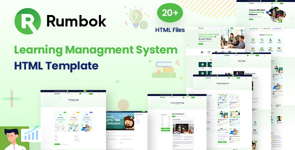 [Free Download] Rumbok – Learning Management System Bootstrap Template (Nulled) [Latest Version]