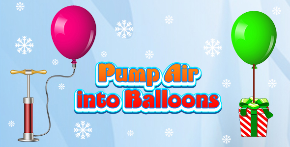 [Free Download] Pump Air into Balloon (CAPX and HTML5) Christmas Game (Nulled) [Latest Version]